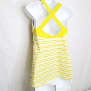 Lululemon Top Speed Tank - Lemon Yellow